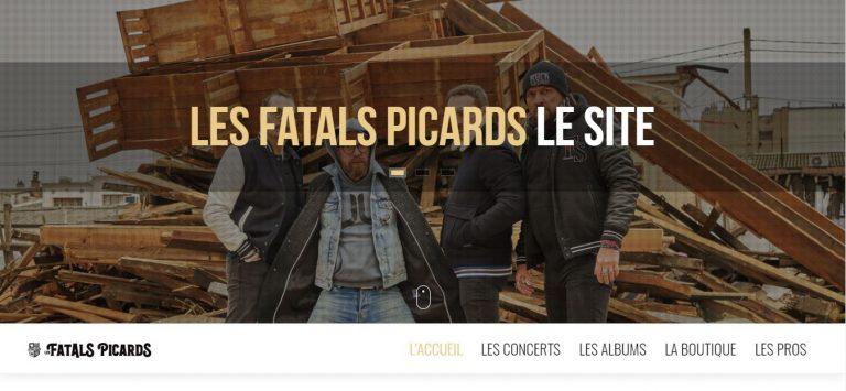 site officiel Fatals Picards, actualité