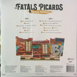 9e album des Fatals picards, vinyle dos de pochette
